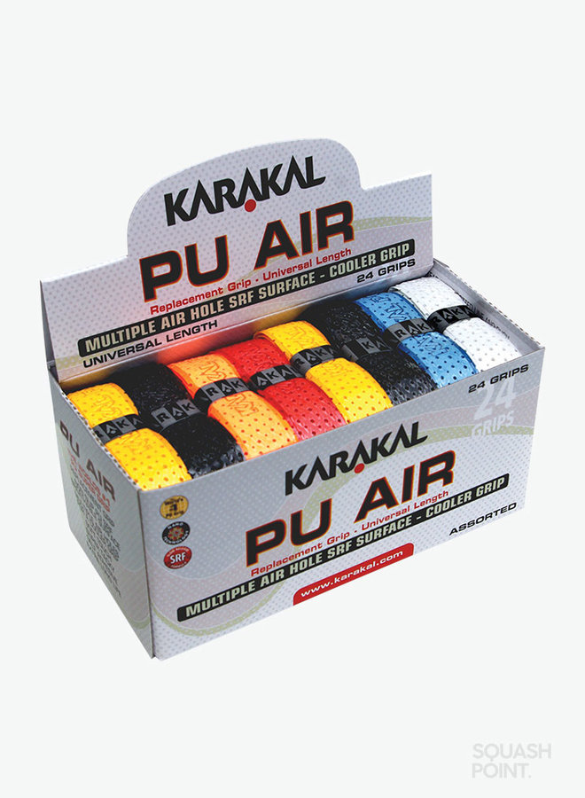Karakal PU Super Air Grip Assorted - 24 Stuks