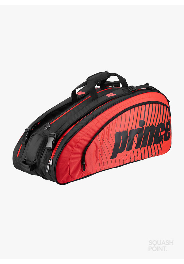 Prince Tour Challenger 9 Pack - Zwart / Rood