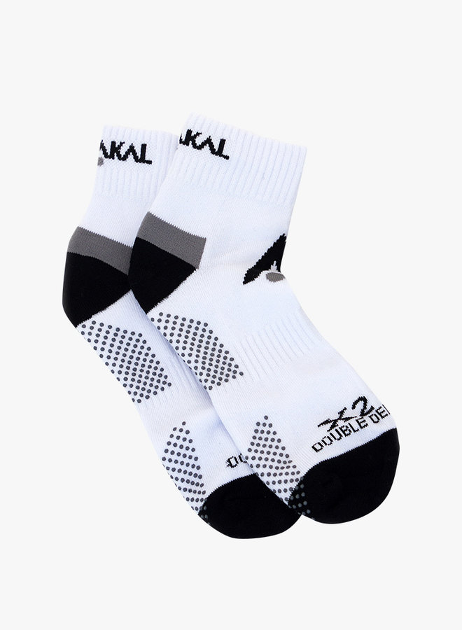 Karakal X2+ Mens Technical Enkelsokken - Wit / Zwart
