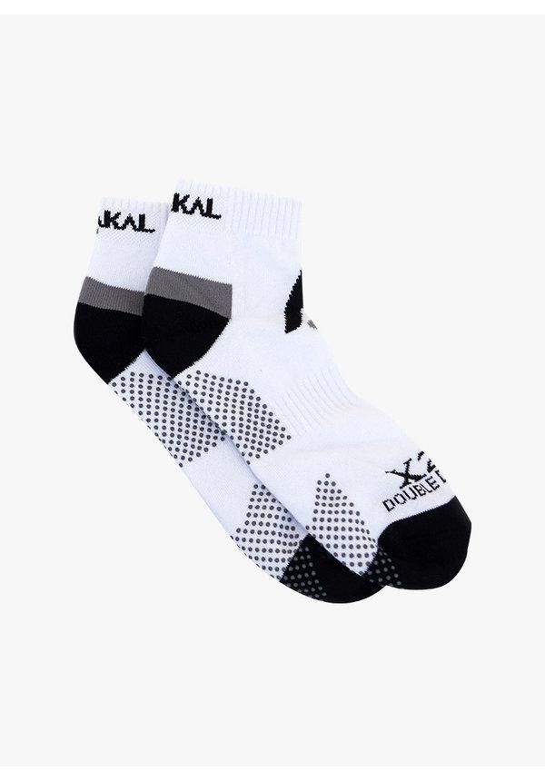 Karakal X2+ Mens Technical Sneaker Sokken  - Wit / Zwart