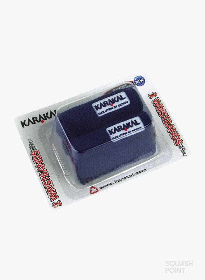 Karakal Polsband X2 - 2 Stuks - Donkerblauw