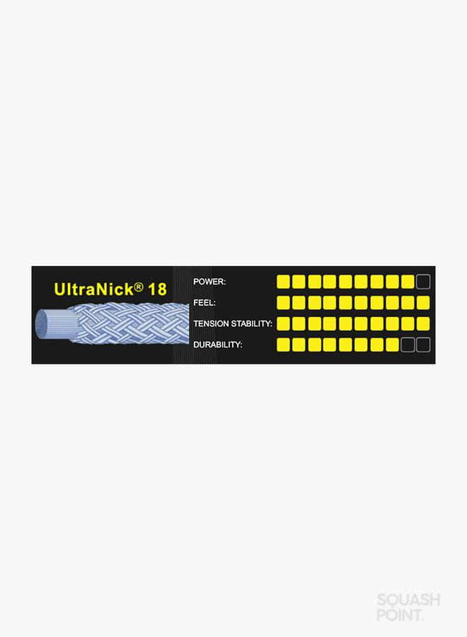 Ashaway UltraNick 18 - Snaarset 9 m