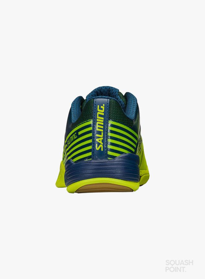 Salming Viper 5 - Fluoriserend Groen / Donkerblauw