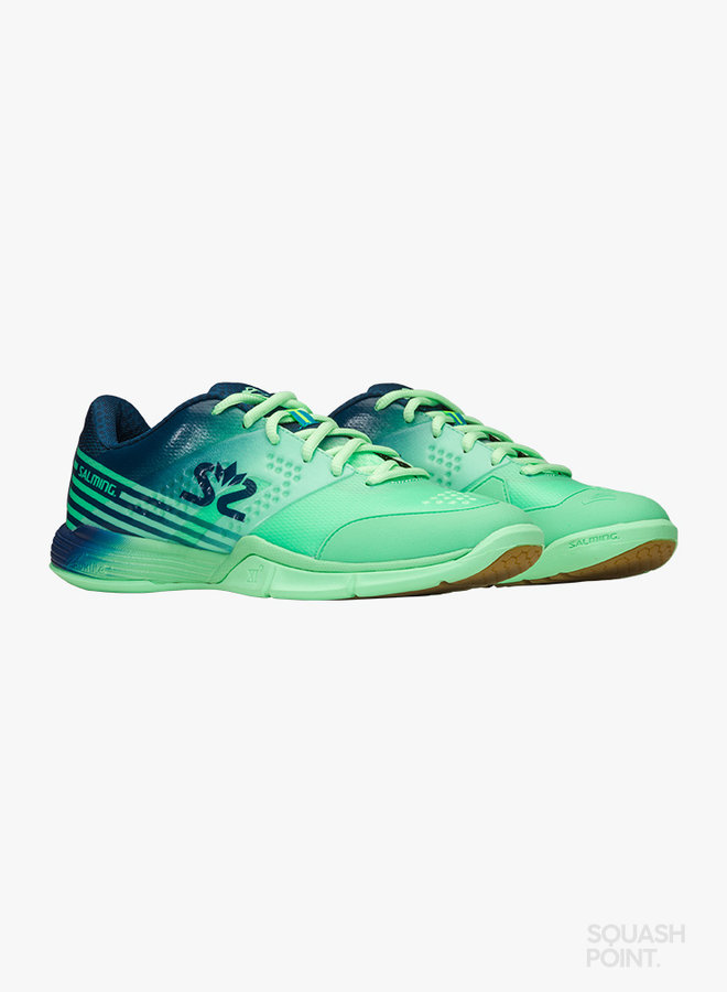 Salming Viper 5 Dames - Turquoise / Donkerblauw