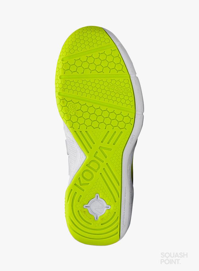 Salming Kobra 3 Dames - Wit / Fluoriserend Groen