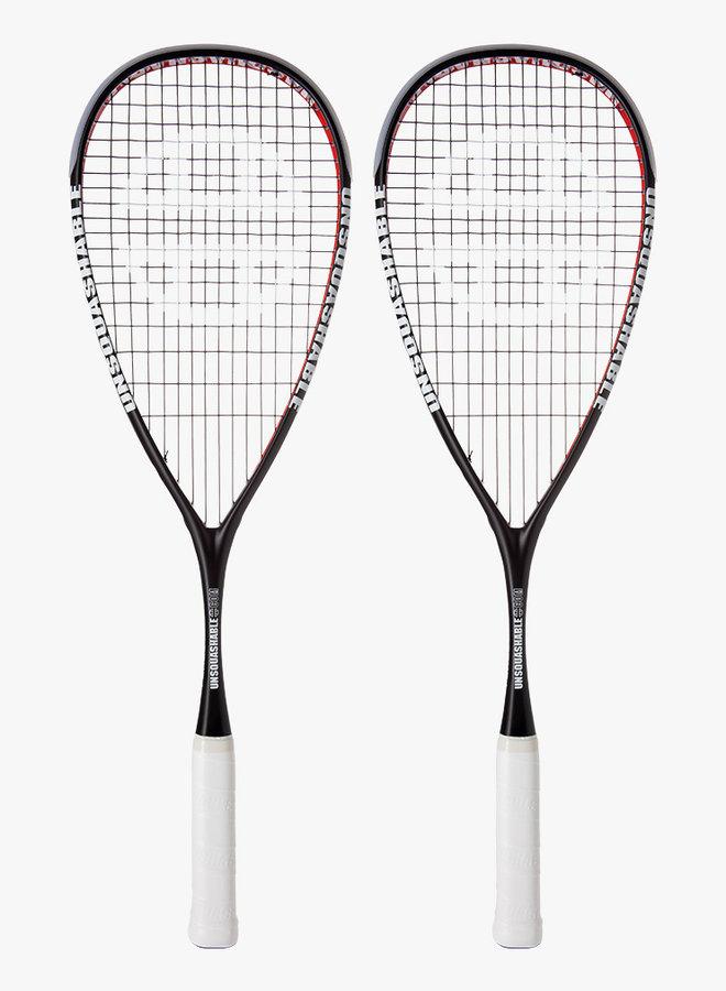 UNSQUASHABLE Force-Lite 125 - 2 Racket Deal