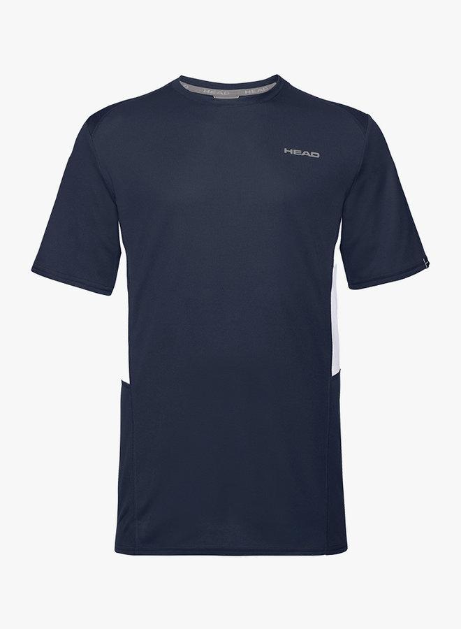 Head Club Tech T-Shirt  - Donkerblauw
