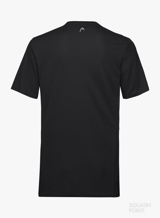 Head Club Tech T-Shirt  - Zwart