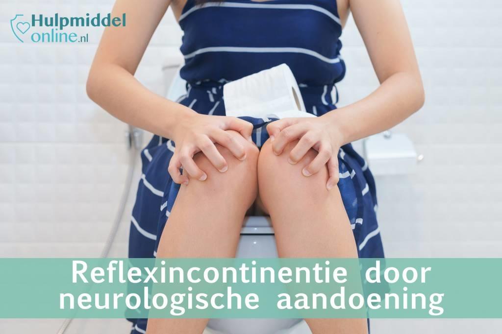 Reflexincontinentie door een neurologische aandoening