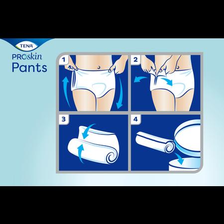 TENA TENA Pants Plus ProSkin  (van XXS tot XL)