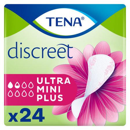 TENA TENA  Discreet Ultra Mini Plus inlegkruisje 24 stuks