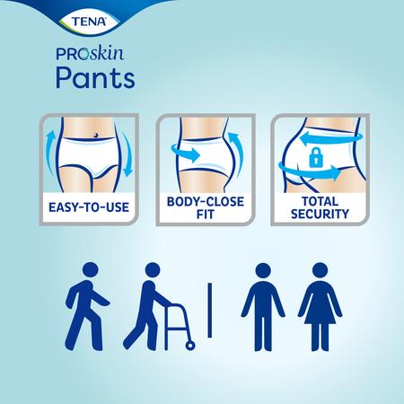 TENA Pants Plus Large ProSkin