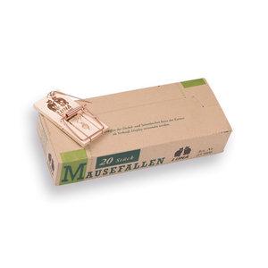 Muizenval Hout LUNA, los in doosje van 20 stuks