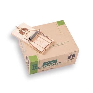 Ratteval Hout LUNA, los in doosje van 10 stuks