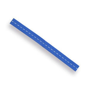Riem blauw elastiek 50 x 4 cm Nierhaus kniebeschermer 13-VE