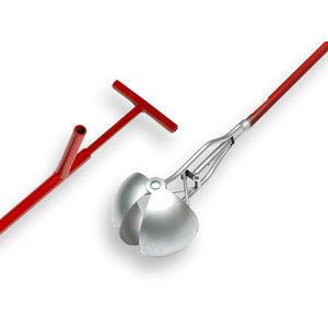 Putschep 13 cm Rond model, steel 150 cm.