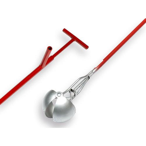 Putschep 13 cm Rond model, steel 200 cm.
