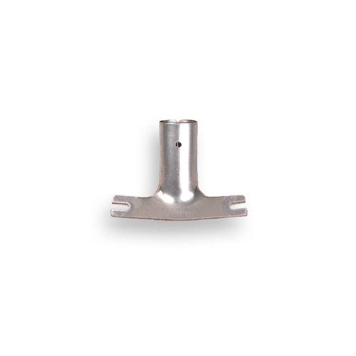 Stokhouder verzinkt extra zwaar voor 28 mm