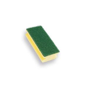 Schuurspons  (verpakt per 10 st) met greep 140x70x42