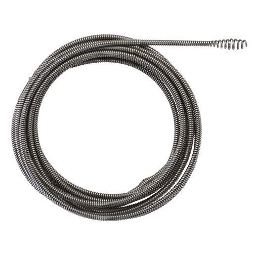 Milwaukee 8mm x 7.6m spiral, bulb auger-1pc