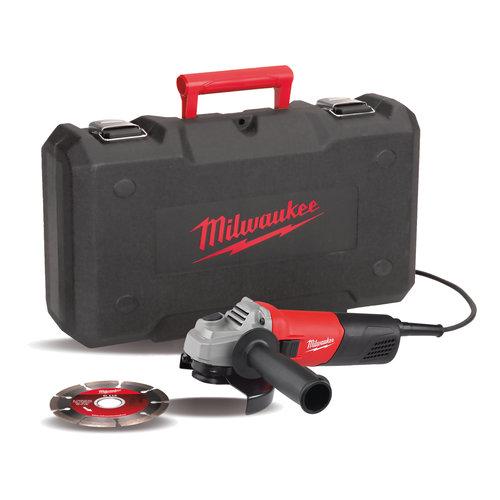 Milwaukee AG 800-115ED-SET 800 Watt haakse slijpmachine