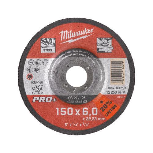 Milwaukee Afbraamschijf GrW SG27/150X7 PRO+ - 1pc
