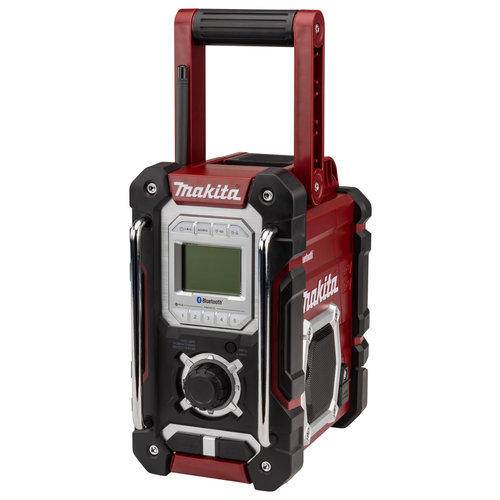 Makita DMR108AR Authentic Red Bouwradio FM/AM Bluetooth
