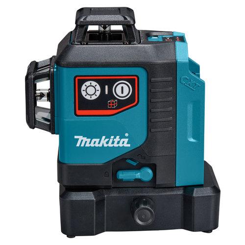 Makita 12 V Max Kruislijn laser rood 3x 360°