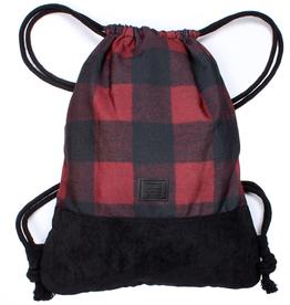 Kollegg Kollegg, Bag, two-tones plaid, rot/schwarz
