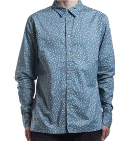 RVLT RVLT, 3351, Shirt Pattern, Blue, L