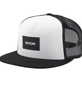 Nixon Nixon, Team Trucker Hat, black/white