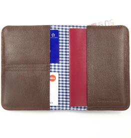 Lost & Found Accessories Lost & found, Passport holder Chocolate