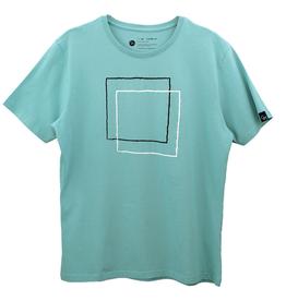 Ginga Ginga, Squares T-Shirt, green, S