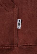 Cleptomanicx Cleptomanicx, Hoody, Embro Gull 2, rosewood, S