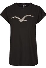 Cleptomanicx Cleptomanicx, T-Shirt, scribble Möwe 3, black, L