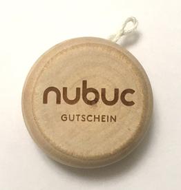 NUBUC Jo-Jo Gutschein, CHF 100