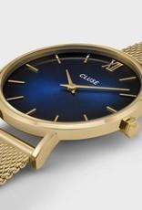 Cluse Cluse, Minuit Mesh, gold/ blue fumé