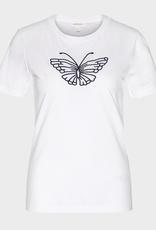 armedangels Armedangels, Lidaa Butterfly, white, M