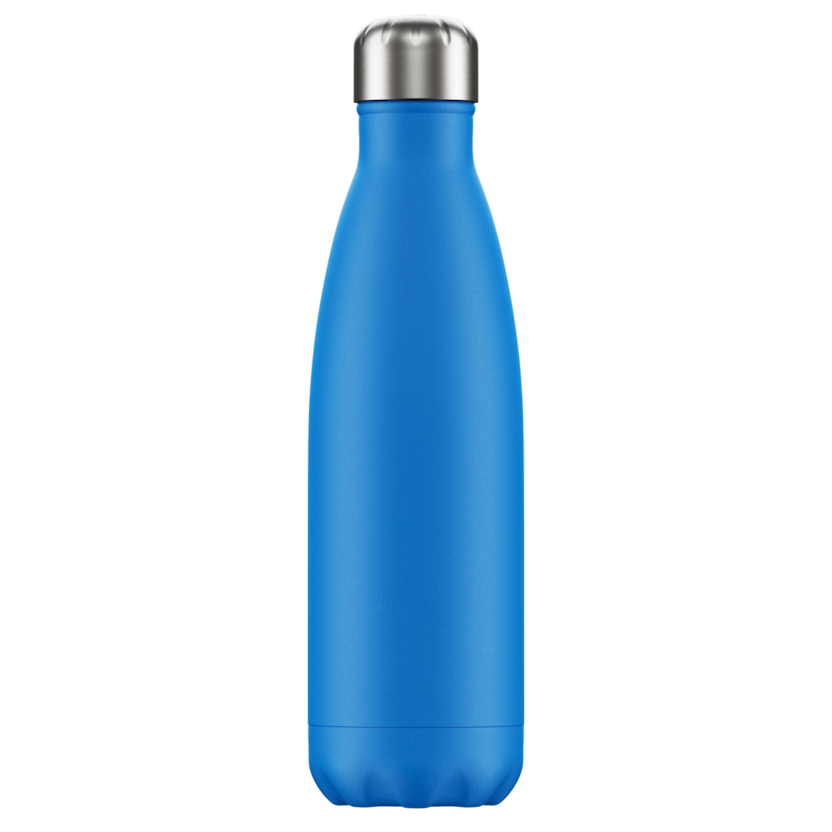 Chilly's Chilly's Bottles, Neon Edition, blue, 500ml
