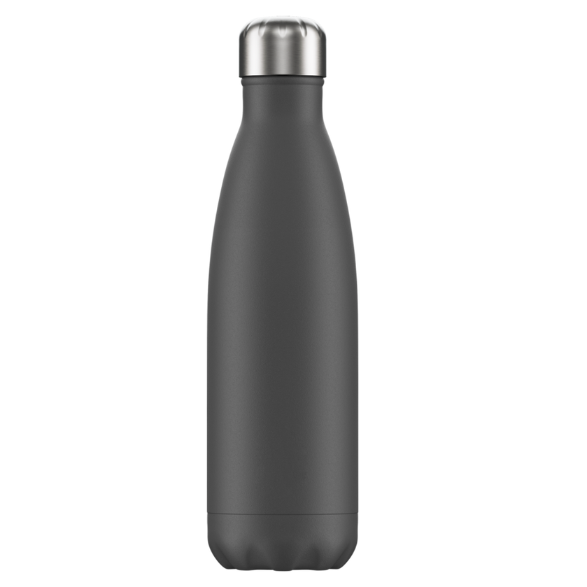 Chilly's Chilly's Bottles, Monochrome Edition, grey, 500ml