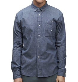 SLVDR SLVDR, Bedford Shirt, blue, XL