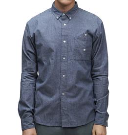 SLVDR SLVDR, Bedford Shirt, blue, S