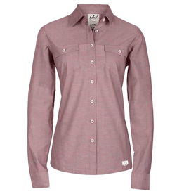 Bleed Bleed, Oxford Shirt, red, L