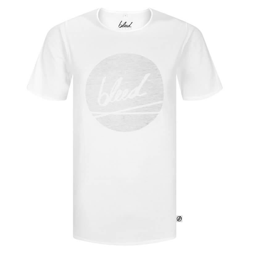 Bleed Bleed, Dot Logo T-Shirt, weiss, XL