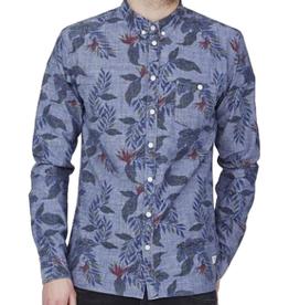 Minimum Minimum, Reggie Shirt, Medium Blue, S
