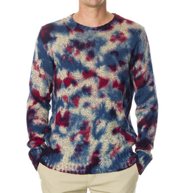 RVCA, Blotter Dye Sweater, Multi, L
