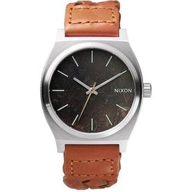 Nixon NIXON, Time Teller, Dark Copper/Saddle Woven