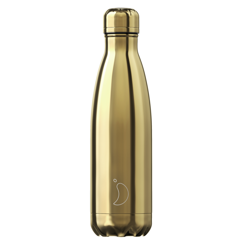Chilly's Chilly's Bottles, Chrome Gold, 500ml