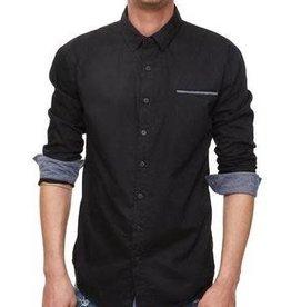 Einstoffen Einstoffen, Robert Langdon Hemd, schwarz, M/L