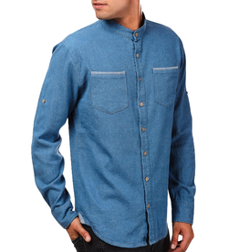 Einstoffen Einstoffen, Hemd, Ivar Ragnarsson, blau, M/L